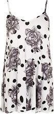 Geblümte ärmellose Damenblusen, - tops & -shirts aus Viskose für die Freizeit