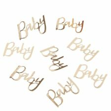 Oh Baby Gold Baby Shower Party Table Confetti Decoration