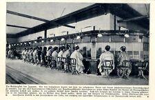 Japan Fernsprechamt in Tokio mit Telephondamen in Nationaltracht von 1909