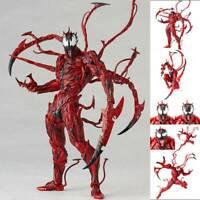 Yamaguchi Marvel Carnage Red Venom Spider-Man Action Figure Model Kids Gift Doll