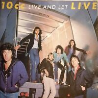 10CC - Live and let LIVE (1977) Phonogram  Vinyl 2LPs 6641 741 (Germany) OIS FOC