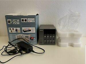 QNAP TS-410 NAS mit 8TB 4x 2TB Storage Raid 0 1 5 6 and JBoD