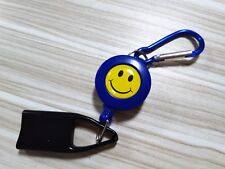 Blue Universal LIGHTER LEASH KEYCHAIN CLIP RETRACTABLE a F01