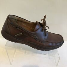 Mephisto Spinnaker Air Relax Brown Leather Boat Shoes Mens Us 8 (Eu42) Croatia