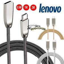 Trenzado Tipo C-C Carga De Sincronización De Datos Usb Cable Cargador Para Tablet Lenovo