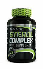 Biotech USA Sterol Complex 60 Tabs Testosterone Booster FREE WORLD SHIPPING !