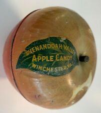 Vintage Shenandoah Apple Candy Co Tin Litho Advert. Pc - Wyandotte Toys (4