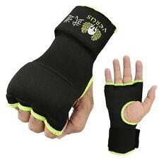 Inner Gloves Martial Arts Kickboxing Gel Punch Mitts Pair Muay thai Green L/XL