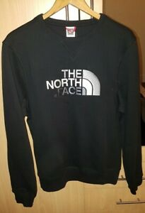 The North Face Mens Sweat Crew Neck Sweatshirt Logo Pullover Authentic