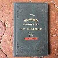 Personal Nueva Carta de France Válvulas Pegada en Tela Andriveau Perno 1853
