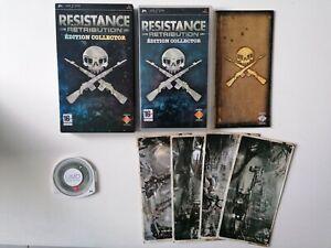 Jeu SONY PSP Résistance Retribution Edition Collector avec Fourreau