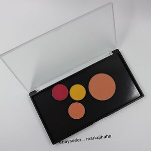 MEDIUM customized MAGNETIC clamshell makeup palette w/transparent cover