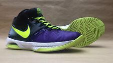 MENS NIKE SHOES US 10―purple/green―Nike Air Visi Pro V 5―653656-500―UK 9―E 44―28