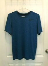 Nike Dri-Fit Men's Royal Blue Shirt - Size S - Free Shipping!