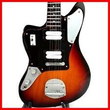 KURT COBAIN GUITARE MINIATURE! NIRVANA Fender Jaguar Sunburst Signatur Left Hand