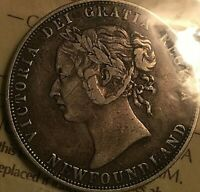 1888 NEWFOUNDLAND SILVER 50 CENTS - ICCS Certified VF-20