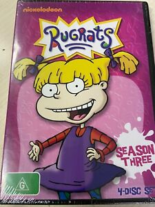 Rugrats : Season 3 (DVD, 2014, 4-Disc Set) Brand New! Region 4