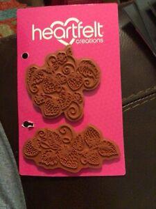 Heartfelt Creations~ Strawberry Swirl Stamp Set