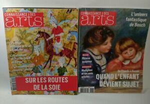 Connaissance des arts année 2016 complète - Lot de 11 revues