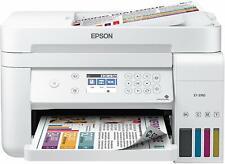 Brand New White Epson EcoTank WorkForce ET-3760 Inkjet All In One Photo Printer