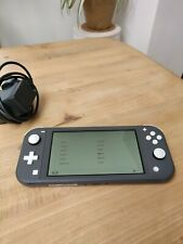 Nintendo Switch Lite Grey Handhled System excellent condition
