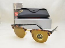 Ray Ban CLUBMASTER (RB3016-1160 49) Spotted Brown Havana with Brown Lens