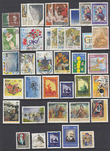 Ireland Sc 126/1446 used. 1943-2002 issues, 40 diff including 9 cplt sets, F-VF