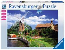 1000 Teile Ravensburger Puzzle Malerische Windmühle 15786