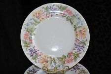 """VTG ENGLAND PARAGON COUNTRY LANE BREAD BUTTER PLATE SCALLOPED EDGES FLORAL 6"""""""