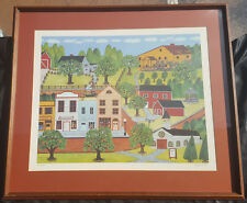 "Mike Falco - ""CLOSED ON SUNDAY"" Vintage Collectible Print Signed-Numbered"