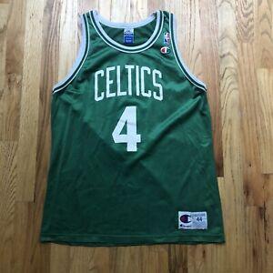 Men's Vintage 90s Champion Boston Celtics Chauncey Billups Rookie Jersey Sz 44 L
