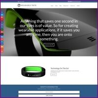 Fully Stocked Dropshipping WEARABLE TECH Website Business For Sale + Domain