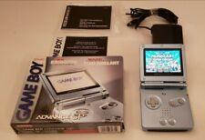 Game Boy Advance Sp Pearl Blue Edition AGS-101 - New Brighter Backlit Screen