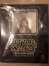 Gentle Giant Star Wars Qui-Gon Jinn Liam Neeson Mini-Bust SEALED Exclusive MISB