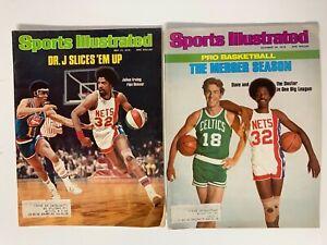 Julius Erving, Nets, 1971 & 1976  Sports Illustrated Magazines
