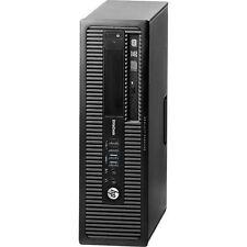 HP EliteDesk 800 G1 SFF PC Desktop Computer CPU i5-4570 Windows 10 Pro DVD Tower