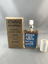 Jovan Sex Appeal For Men 2 OZ After Shave Cologne Spray New in tester Box Rare