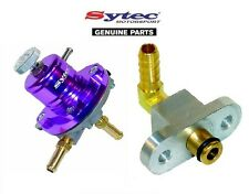 Sytec MSV regulador de presión de combustible + Mazda RX7 Twin Turbo Kit De Adaptador De Riel de combustible
