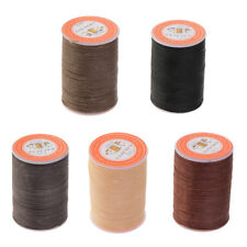 5Pcs 0.65mm Polyester Sewing Waxed Wax Thread Hand DIY Stitching Cord Craft