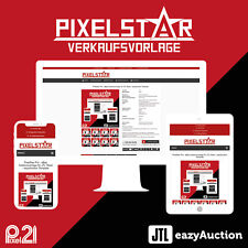 PixelStar eBay Auktionsvorlage RESPONSIVE JTL Wawi eazyAuction Template