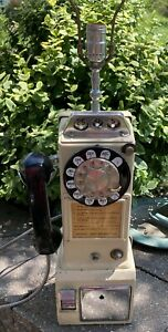 BELL Rotary Dial 3 Coin (5/10/25) Slot Pay Phone Bell System Western Electric