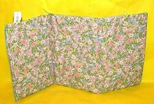 Vintage Barbie Dream House Padded Floral Mattress Cover, Taiwan, 1985, Minty