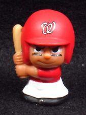 """MLB TEENYMATES ~ 1"""" Batter Figure ~ Series 1 ~ Nationals ~ Minifigure"""