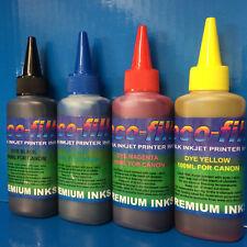 400ml ECOFILL Dye Printer Refill Ink Fit Canon Pixma iP7250 iP8750 iX6850 MG5450