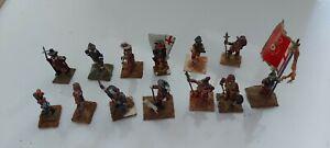 13 English Civil War 30mm  Painted metal  Wargame  Soldiers