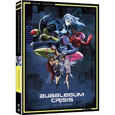 Bubblegum Crisis . Tokyo 2040 . The Complete Series . Anime . 4 DVD . NEU