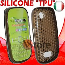 Cover Gel Silicone TPU Black For Nokia Asha 200/201