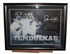 Sachin Tendulkar Framed Original Sportsprint