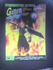 THE GAMES MACHINE 110 Luglio Agosto 1998 FINAL FANTASY DESCENT SENSIBLE SOCCER