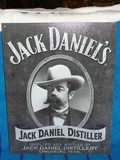New Tin Sign- Jack Daniel's- Jack Daniel Distiller Portrait- B & W-Made in USA